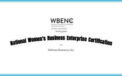 Software Resources, Inc. National Women's Business Enterprise Certification